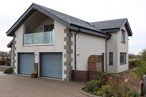 JG Builders Braidleys Ltd New House Build