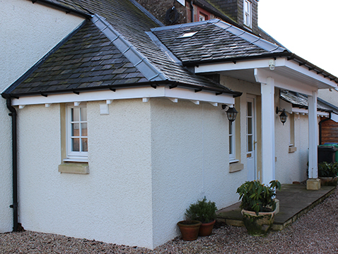 JG Builders Braidleys Fife Builders Country House extension