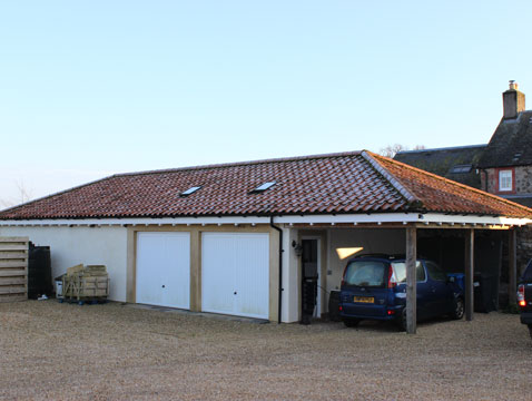 JG-Builders Braidleys-garage-extension
